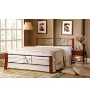 METAL DOUBLE BED ARMONI