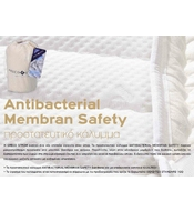 GRECO STROM ANTIBACTERIAL MEMBRAN SAFETY MATTRESS COVER