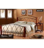 METAL DOUBLE BED VANESSA