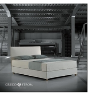 BED GRECO STROM IVORY