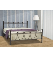 METAL DOUBLE BED LAMDA