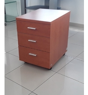 Ρ737-03 OFFICE DRAWER CABINET CHERRY