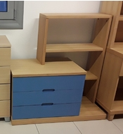Κ-2028 DRAWER WITH BOOKSHELF